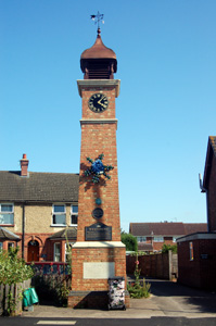 Westoning Clock Tower August 2009