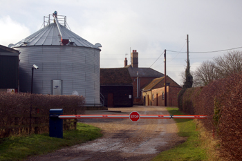 Wood End Farm January 2010