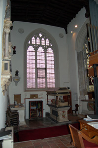 The Gostwick Chapel looking east August 2010