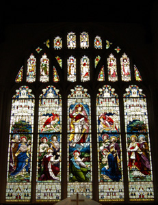 The east window August 2010