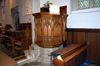 The pulpit August 2010