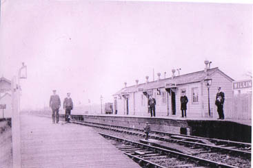 Willington Station in 1927