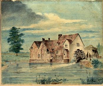 Willington Mill by T. Wray [Z44/2]