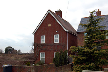 House on the site of the former mission church at Littleworth March 2013