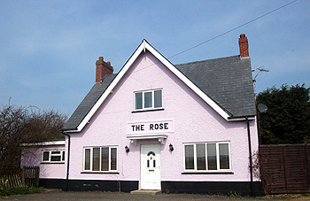 The former Rose Public House March 2011