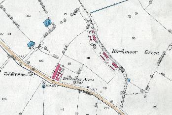 Birchmoor Green in 1882