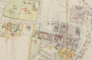 Park Farm Complex annotated by the rating valuer in 1927 [DV2/C24]
