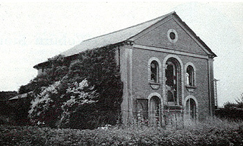 The Congregational Church about 1950 - pictured in The Bedfordshire Magazine