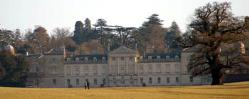 Woburn Abbey south front seen from London Road January 2008