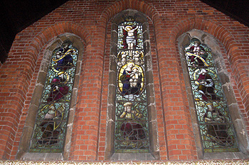 The chancel east window September 2012