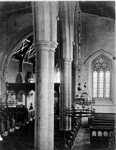 The church interior about 1870 [X67/934/63]