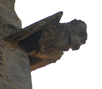Gargoyle at the north-west corner of the tower March 2012