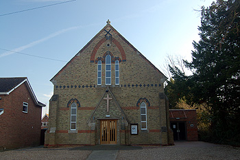 The Methodist chapel March 2012
