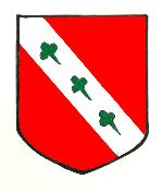 The coat of arms of the Harvey family of Thurleigh