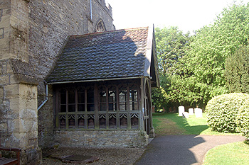 The south porch May 2010