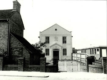Wootton Baptist church and manse in the late 20th century [Z155/150]