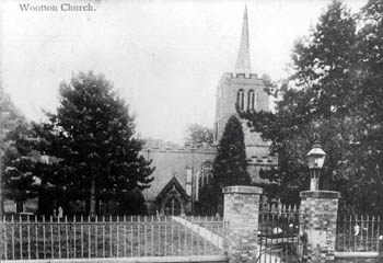 Wootton Church about 1900 [Z50/136/5]